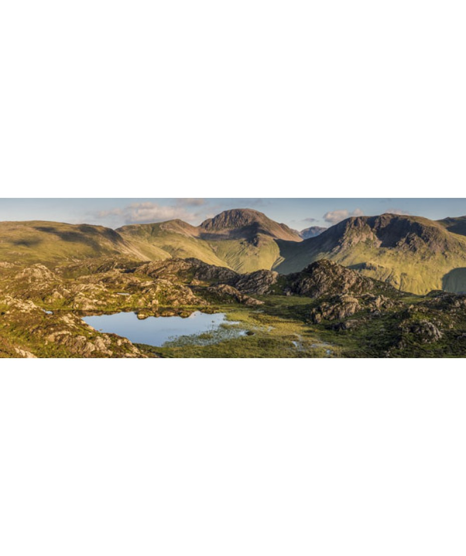 Summer Evening Inominate Tarn