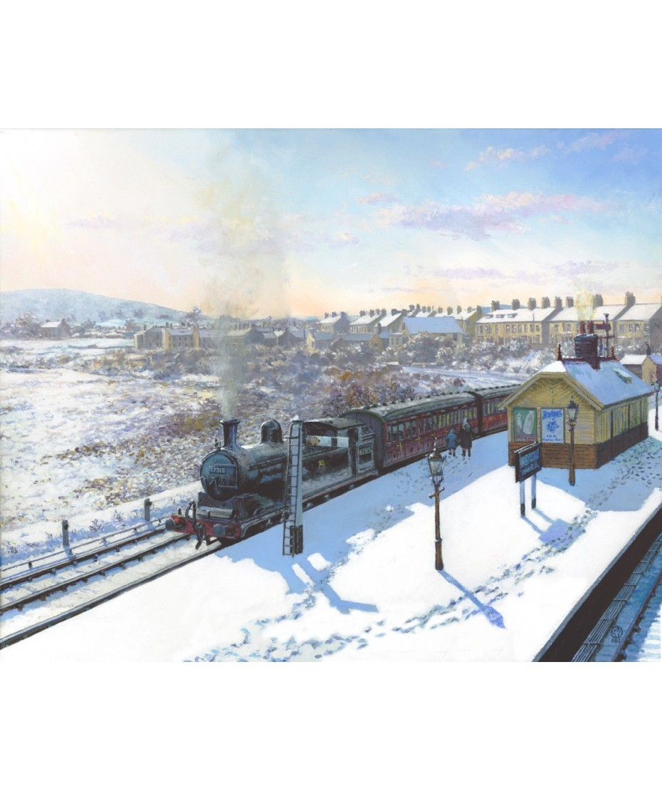 Alston Train on Canvas